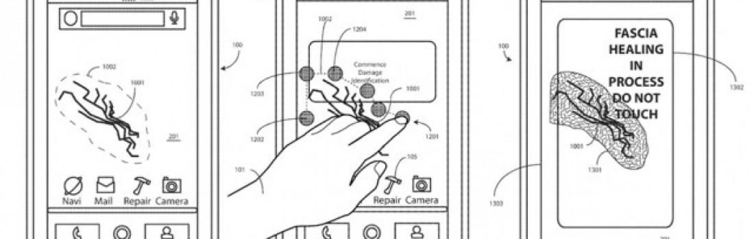 Motorola patenta una pantalla con polímero que se autorrepara